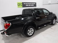 USED 2013 63 MITSUBISHI L200 2.5 DI-D 4X4 BARBARIAN LB DCB 1d 175 BHP GREAT 4 WHEEL DRIVE IN AMAZING CONDITION, GLEAMING BLACK PAINT WORK, ONE OWNER, FULL SERVICE HISTORY, FULL HEATED LEATHER,SAT NAV, SIDE STEPS, LOAD COVER, DAB RADIO CD, ELEC WINDOWS ALL ROUND , ELEC WINDOWS BEEN VERY WELL LOOKED AFTER BY PREVIOUS OWNER FULLY SERVICED READY TO GO
