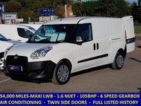 2014 FIAT DOBLO MAXI 1.6 105BHP CARGO WITH AIR CON & FULL HISTORY £5795.00
