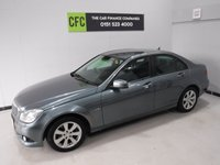 2011 MERCEDES-BENZ C CLASS 2.1 C220 CDI BLUEEFFICIENCY SE 4d 168 BHP £6495.00