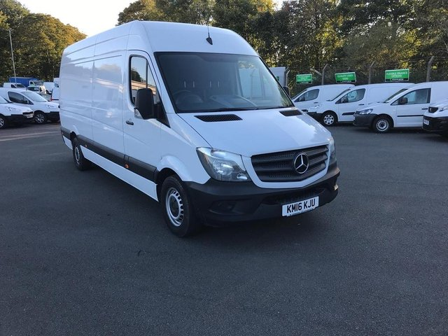 View our 2016 16 MERCEDES-BENZ SPRINTER 313 LWB H/R EURO 5 129PS *VALUE RANGE VEHICLE - CONDITION REFLECTED IN PRICE* 2.2