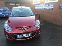 USED 2013 63 MAZDA 2 1.3 VENTURE EDITION 5d 83 BHP ONE OWNER ONLY 32K MILES