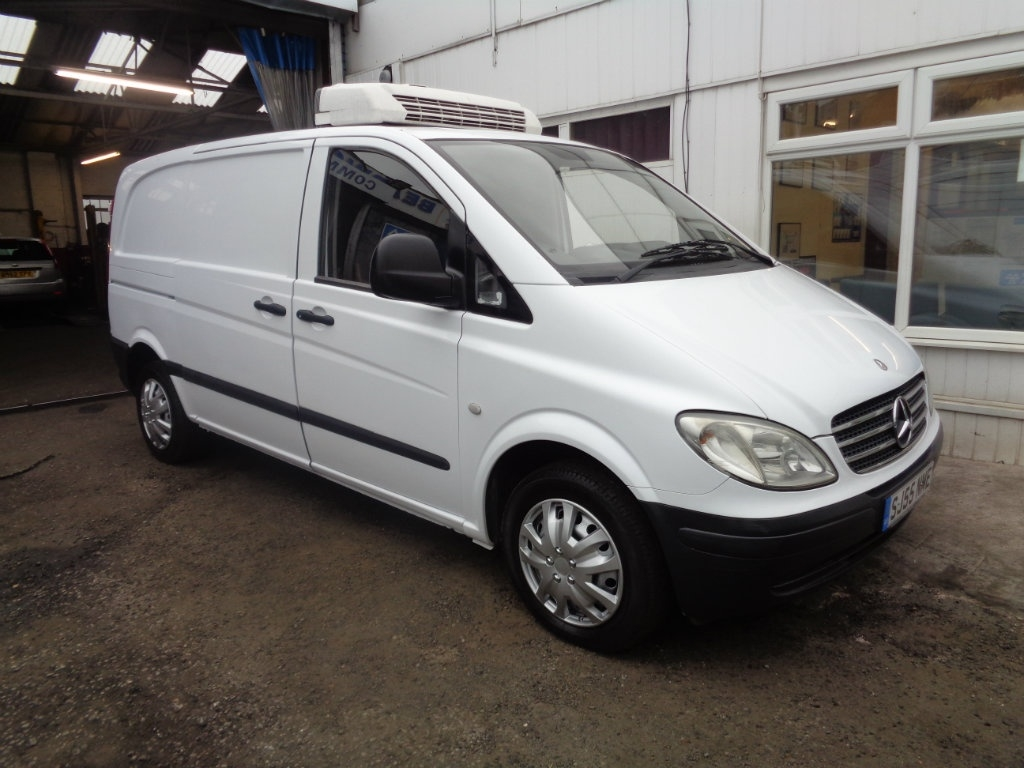 View our 2005 55 MERCEDES-BENZ VITO 2.1 109CDI Refrigerated Van 5dr