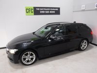 USED 2012 62 BMW 3 SERIES 2.0 320D M SPORT TOURING 5d 181 BHP AMAZING CAR WITH AMAZING SPEC, FINISHED IN GLEAMING BLACK FULL SERVICE HISTORY WITH NEW DISCS AND PADS FITTED  FRONT AND REAR ,THIS CAR IS A GREAT EXAMPLE OF A SPORTS TOURER, THIS CAR COMES WITH SOME GREAT SPEC, FULL LEATHER INTERIOR, SAT NAV, BLUETOOTH PHONE AND MUSIC PREP, AUX AND USB POINTS, ELEC BOOT OPENER, SPORTS /ECO MODES, MULTI FUNCTION LEATHER CLAD STEERING WHEEL, STOP START, ALLOY DASH INSERTS