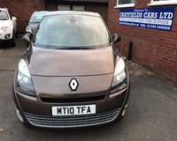 USED 2010 10 RENAULT GRAND SCENIC 1.5 PRIVILEGE TOMTOM DCI 5d 105 BHP 7 SEATER SEATS, ONLY 44K MILES