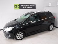 USED 2012 62 FORD GRAND C-MAX 1.6 TITANIUM TDCI 5d 114 BHP ONE OWNER WITH FULL SERVICE HISTORY FINISHED IN GLEAMING BLACK METALLIC GREAT FAMILY CAR WITH SEVEN SEATS AND REAR TABLES, FRONT FOG LAMPS, BRUSHED ALLOY ROOF RAILS,VOICE COMMAND BLUETOOTH PHONE PREP, MULTI FUNCTION STEERING WHEEL, AUX USB, ELEC MIRRORS, ELEC FRONT AND REAR WINDOWS, ICE COLD AIR CON   for more Information Please Call Now on 0151523 4000,  07487 852 292. Family Run Business Since 1990