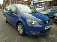 2011 VOLKSWAGEN TOURAN 1.6 S TDI BLUEMOTION TECHNOLOGY 5d 103 BHP £7749.00