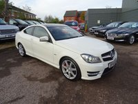 2011 MERCEDES-BENZ C CLASS 2.1 C220 CDI BLUEEFFICIENCY AMG SPORT 2d AUTO 170 BHP £9990.00
