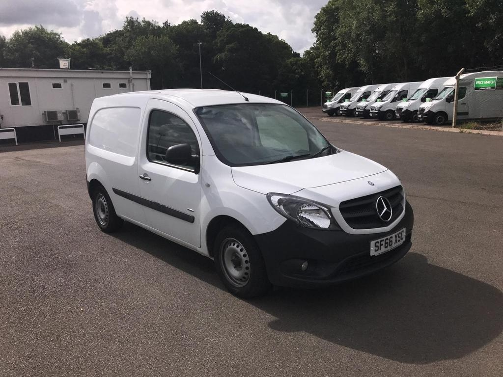 View our 2016 66 MERCEDES-BENZ CITAN 109 CDI BLUEEFFICIENCY VAN 1.5