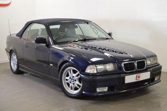 1999 BMW 3 SERIES 1.8 318I CONVERTIBLE 114 BHP £2995.00
