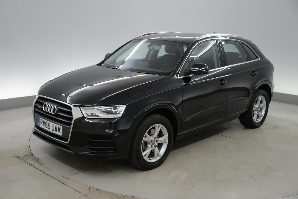 View our 2015 65 AUDI Q3 2.0 TDI Quattro SE 5dr - ADJUSTABLE LUMBAR - AMBIENT INTERIOR LIGHTING