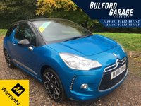 USED 2011 61 CITROEN DS3 1.6 DSTYLE PLUS 3d 120 BHP