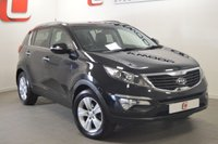 USED 2010 60 KIA SPORTAGE 1.7 CRDI 2 5d 114 BHP TINTED GLASS + PAN ROOF + SERVICE HISTORY + BEST COLOUR