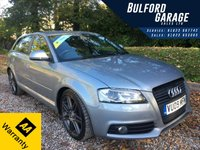 USED 2009 09 AUDI A3 2.0 SPORTBACK TDI S LINE SPECIAL EDITION 5d AUTO 168 BHP