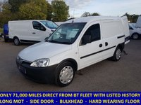 2009 VAUXHALL COMBO 2000 1.3 CDTi Direct From BT With History £3295.00
