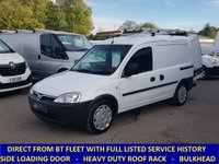 2010 VAUXHALL COMBO 2000 1.3 CDTi Direct From BT With History £3195.00