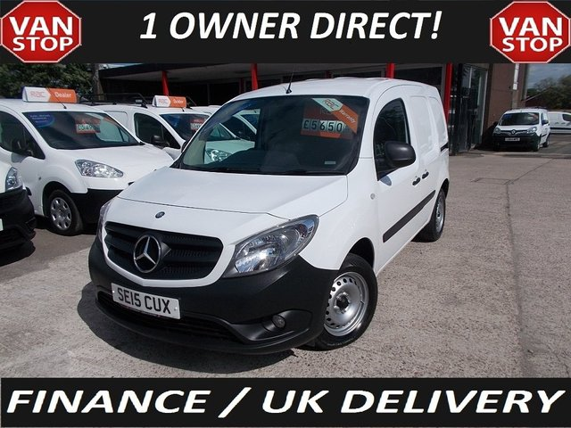View our 2015 15 MERCEDES-BENZ CITAN 109 CDI LWB 90PS **TWIN S/L/D** 1.5