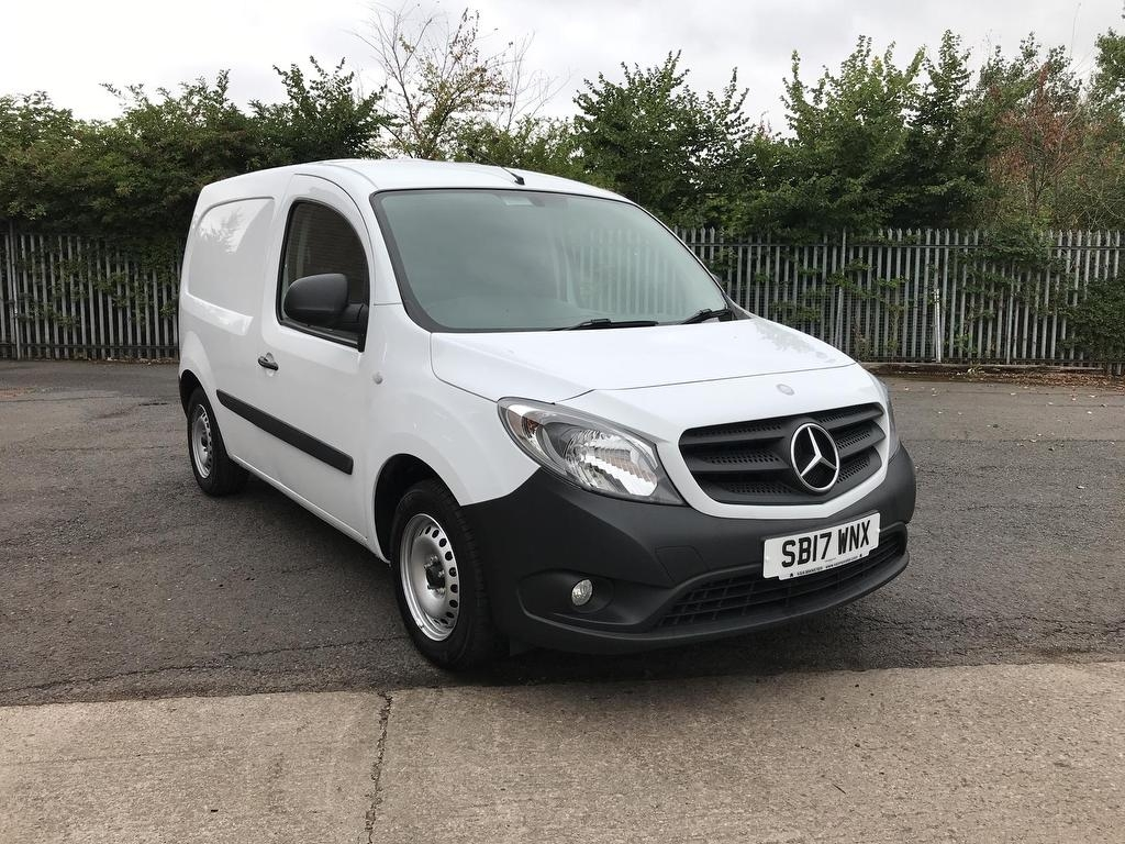 View our 2017 17 MERCEDES-BENZ CITAN 109CDI LONG BLUE EFFICIENCY 90PS 1.5
