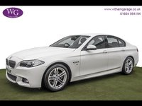 2016 BMW 5 SERIES 2.0 520D M SPORT 4d AUTO 188 BHP £18495.00