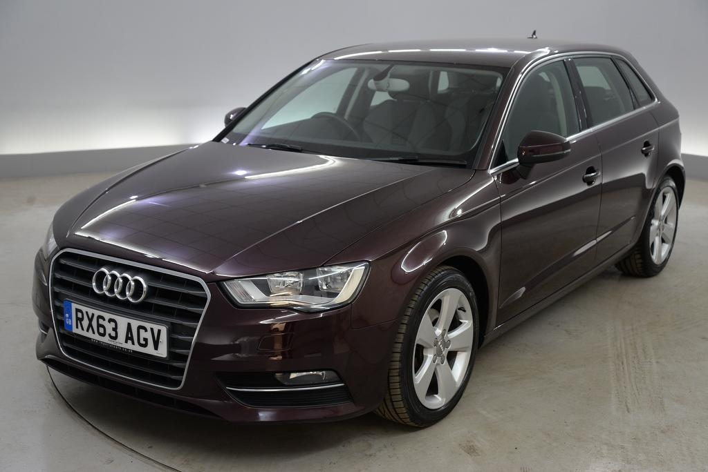 View our 2013 63 AUDI A3 2.0 TDI Sport 5dr - SD CARD MEDIA INPUT - 17IN ALLOYS - SPORTS SEATS