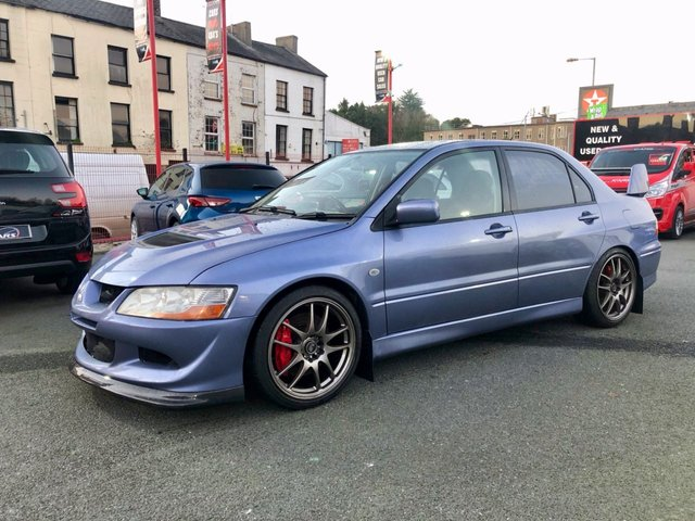 2003 MITSUBISHI LANCER 2.0 EVOLUTION VII - X IMPORT 4d 300 BHP