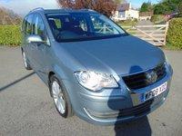 2008 VOLKSWAGEN TOURAN 1.9 SE TDI 5d 103 BHP