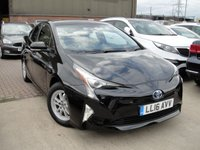 2016 TOYOTA PRIUS 1.8 VVT-I BUSINESS EDITION PLUS 5d AUTO 97 BHP £17500.00