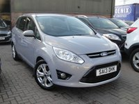 USED 2013 13 FORD GRAND C-MAX 1.6 TITANIUM TDCI 5d 114 BHP ANY PART EXCHANGE WELCOME, COUNTRY WIDE DELIVERY ARRANGED, HUGE SPEC