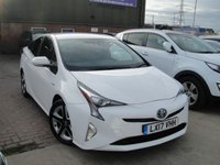 USED 2017 17 TOYOTA PRIUS 1.8 VVT-I BUSINESS EDITION PLUS 5d AUTO 97 BHP ANY PART EXCHANGE WELCOME, COUNTRY WIDE DELIVERY ARRANGED, HUGE SPEC