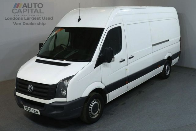 2016 16 VOLKSWAGEN CRAFTER 2.0 CR35 TDI 135 BHP L3 H3 LWB H/ROOF  +++ONLY ONE OWNER FROM NEW+++