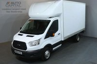 USED 2015 65 FORD TRANSIT 2.2 350 124 BHP LWB L3 RWD WITH TAIL LIFT LUTON VAN TWIN WHEELER 13 FOOT BED