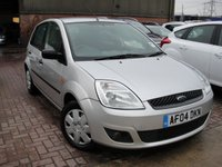 USED 2005 04 FORD FIESTA 1.4 LX 16V 5d 78 BHP ANY PART EXCHANGE WELCOME, COUNTRY WIDE DELIVERY ARRANGED, HUGE SPEC