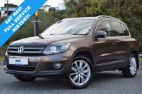 USED 2012 62 VOLKSWAGEN TIGUAN 2.0 SE TDI BLUEMOTION TECHNOLOGY 4MOTION DSG 5d 138 BHP FULL SERVICE HISTORY! LADY OWNER! RARE METALLIC BRONZE!