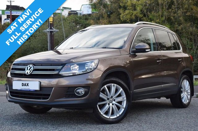 2012 62 VOLKSWAGEN TIGUAN 2.0 SE TDI BLUEMOTION TECHNOLOGY 4MOTION DSG 5d 138 BHP