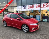USED 2010 10 HONDA CIVIC 2.0 I-VTEC TYPE-R GT 3d 198 BHP NO DEPOSIT AVAILABLE, DRIVE AWAY TODAY!!