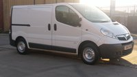 2011 VAUXHALL VIVARO 2.0 2900 CDTI 1d 89 BHP 1 OWNER FULL VOSA PRINT OUT  FREE 12 MONTHS WARRANTY COVER \ £4290.00