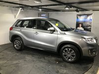 USED 2017 17 SUZUKI VITARA 1.6 SZ4 5d 118 BHP Bluetooth  :  DAB Radio  :  Cloth upholstery : Climate Control/Air-Conditioning   :   Isofix fittings   :   Full Suzuki service history