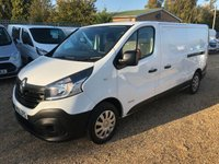 USED 2015 65 RENAULT TRAFIC 1.6 LL29 BUSINESS DCI S/R P/V 1d 115 BHP 61OOO MILES ONE OWNER FROM NEW FACTORY SAT/NAV.