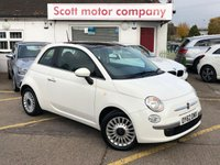 USED 2012 62 FIAT 500 1.2 Lounge