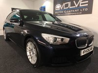 2016 BMW 5 SERIES 2.0 520D M SPORT GRAN TURISMO 5d AUTO 181 BHP £21099.00