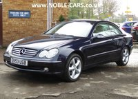 2003 MERCEDES-BENZ CLK 3.2 CLK320 ELEGANCE 2d AUTO 218 BHP £3895.00