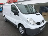 2012 RENAULT TRAFIC SL29 2.0 DCi 115 6-SPEED SWB £SOLD