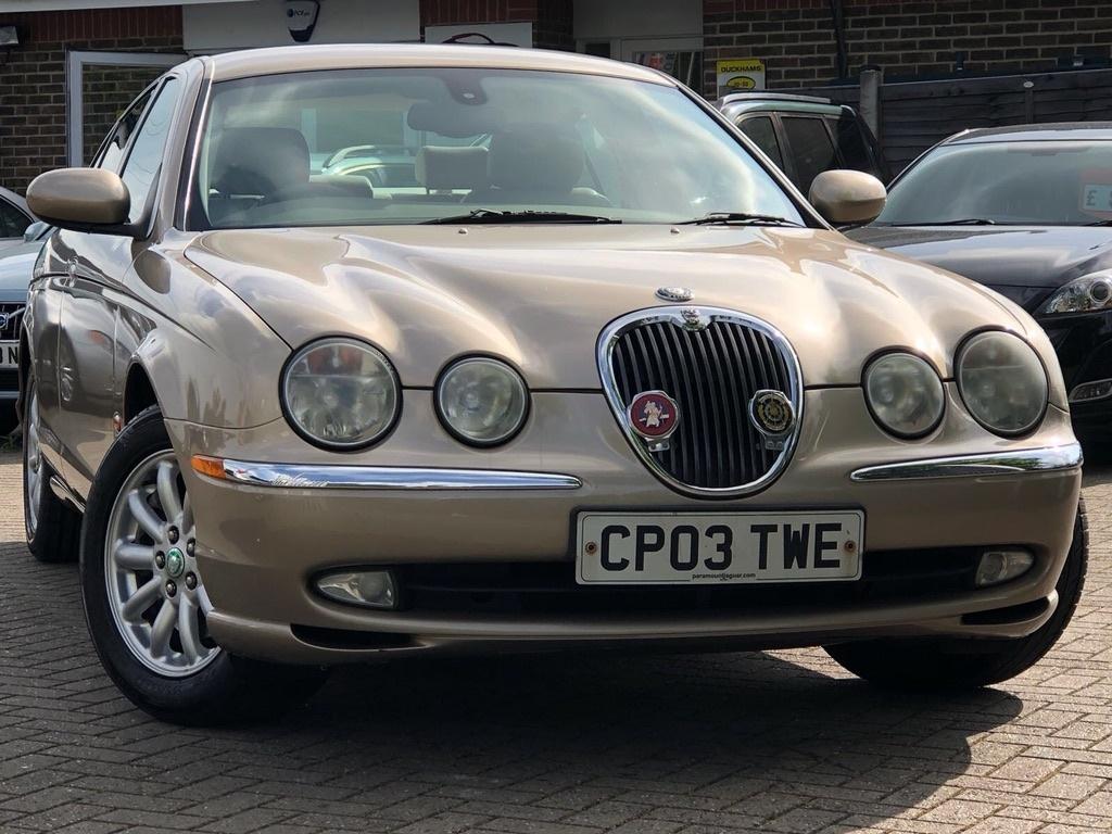 View our 2003 03 JAGUAR S-TYPE 3.0 V6 SE 4dr