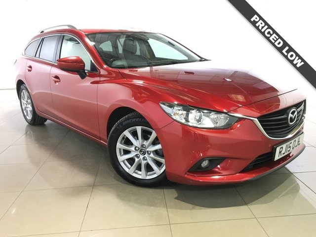 View our 2015 15 MAZDA 6 2.2 D SE-L NAV 5d AUTO 148 BHP