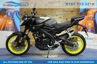 2018 YAMAHA MT-125 MT 125 ABS 15 BHP £3694.00