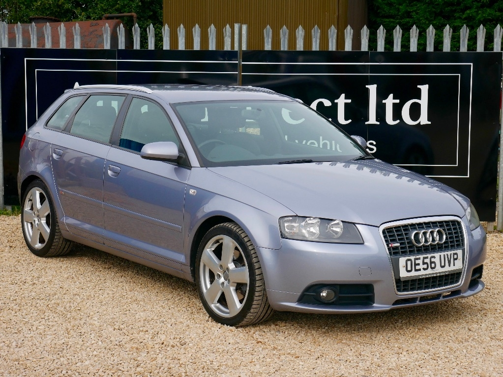 View our 2007 56 AUDI A3 2.0 TFSI S line Special Edition Sportback 5dr