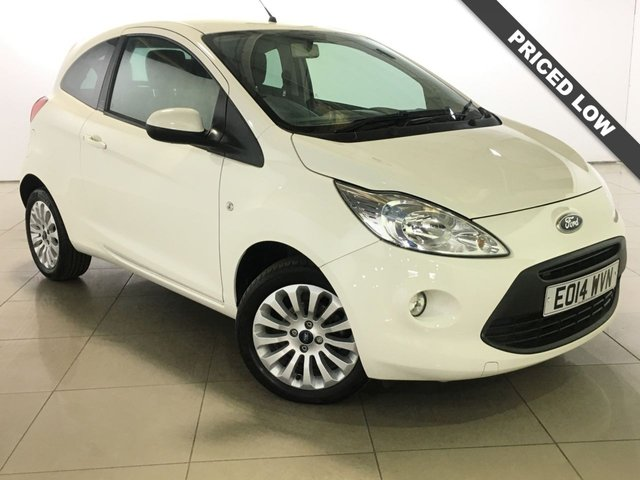 View our 2014 14 FORD KA 1.2 ZETEC 3d 69 BHP