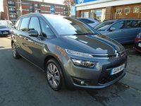 2014 CITROEN C4 GRAND PICASSO 1.6 E-HDI AIRDREAM EXCLUSIVE ETG6 5d AUTO 113 BHP £9249.00