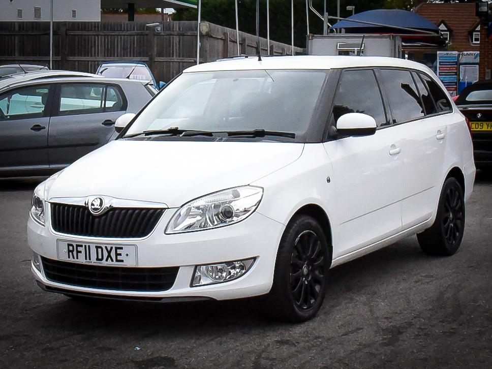 SKODA FABIA at Click Motors
