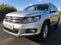 USED 2013 62 VOLKSWAGEN TIGUAN 2.0 SE TDI BLUEMOTION TECHNOLOGY 4MOTION DSG 5d AUTO 138 BHP