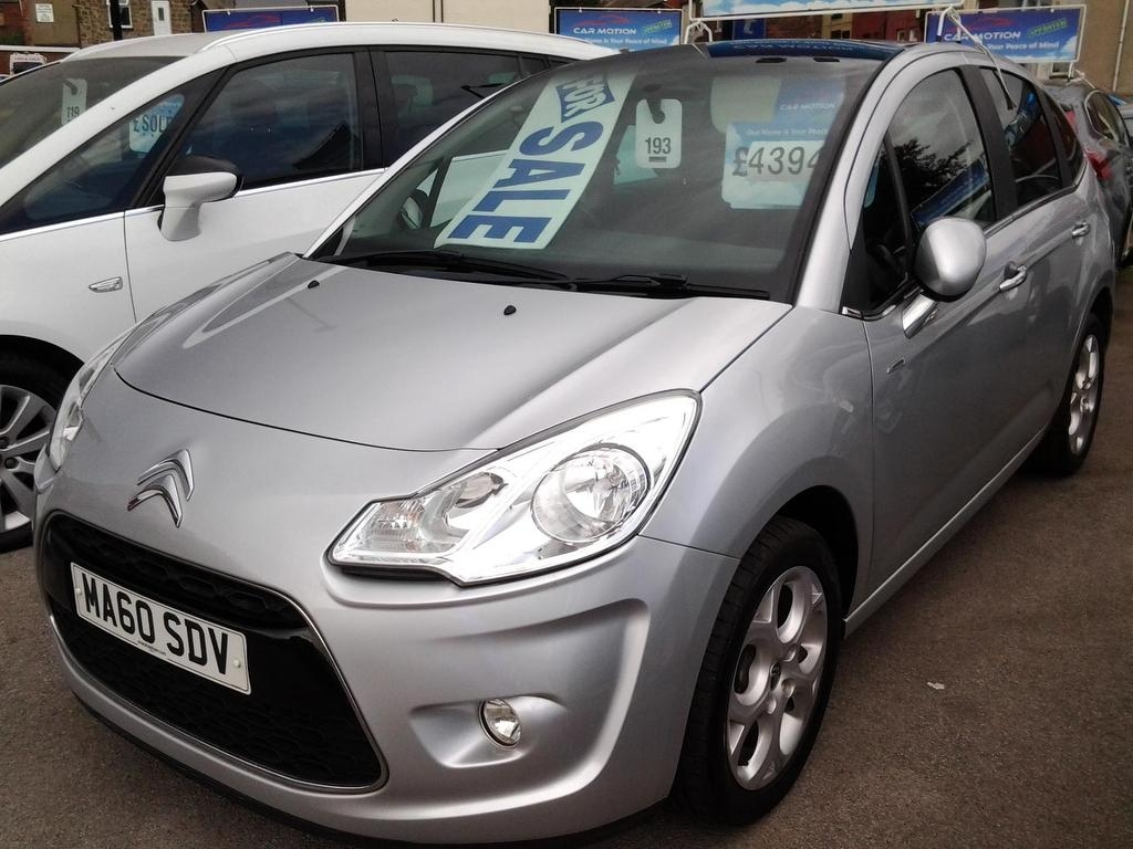 View our 2010 60 CITROEN C3 1.6 VTi 16V Exclusive 5dr